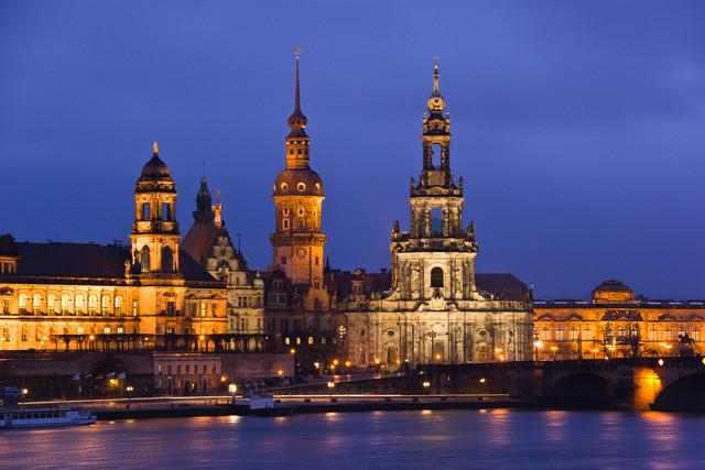 Dresden, Germany --- Dresden Hofkirche